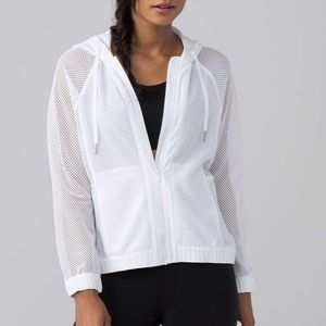 "NWT Lululemon ""Mesh on Mesh"" Jacket!"